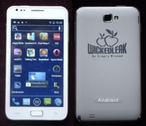 5 inch Wammy Note - a Android smartphone