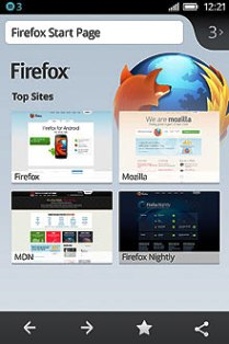 Mobile operating system - Firefox OS