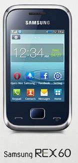 Samsung Rex 60 Specs
