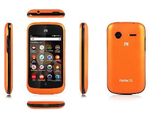 ZTE Open Firefox OS phone