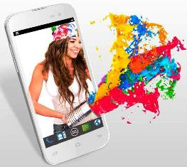 Iris 450 Colour new Lava Android smartphone