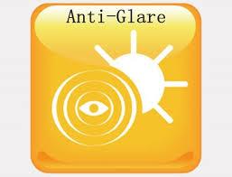 Anti-glare screen for smartphones