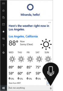 Microsoft's Cortana With Windows 10 Launching on july 2015