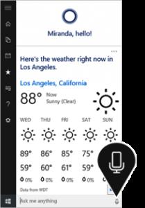Microsoft's Cortana With Windows 10 Launching on july 2015